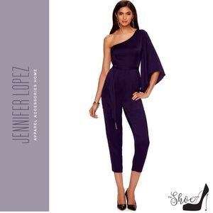 Jennifer Lopez Asymmetrical Jumpsuit